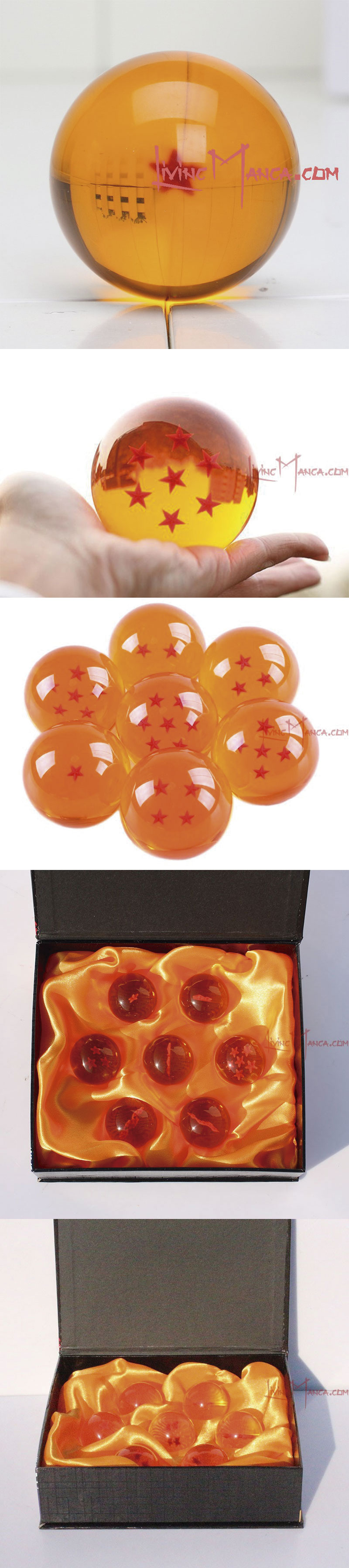 Bola de dragón de 1 estrella 3D de Dragon Ball